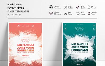 Minimal - Event Flyer - Corporate Identity Template