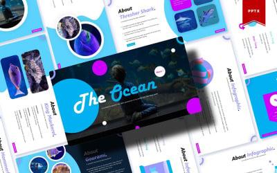 The Ocean   PowerPoint Template