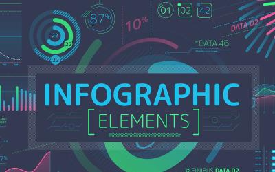 Spravované infografické prvky po úvodních efektech