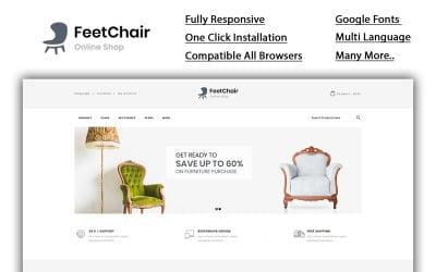 Feetchair - Online Shop OpenCart Template