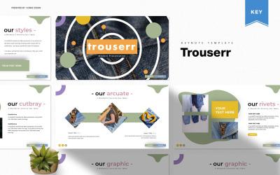 Trouserr - Keynote template