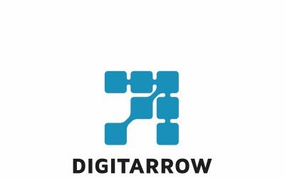 Digital Arrow Logo Template