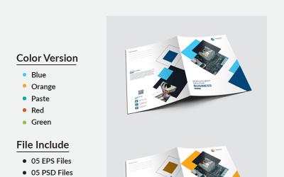 IT Presentation Floder - Corporate Identity Template