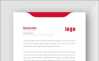 Design Pro Red - Corporate Identity Template