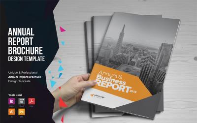 Helen - Annual Report Brochure Design - Corporate Identity Template