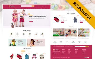 Playkids-儿童商店OpenCart模板