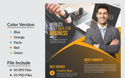 BDDL Business Flyer - Corporate Identity Template