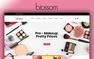 Blossom - Beauty Store OpenCart Template