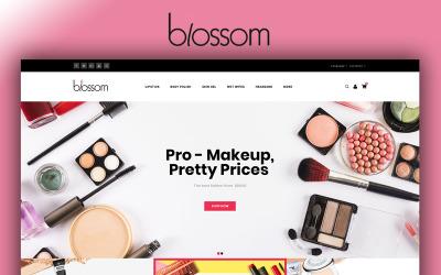 Blossom - modelo OpenCart de loja de beleza
