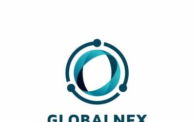 Plantilla de logotipo de empresa global