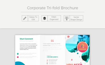 Amambai Creative Tri Fold Brochure - Corporate Identity Template