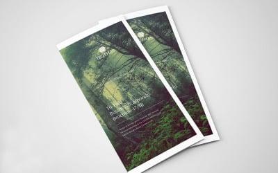 Minimal Tri-fold Brochure - Corporate Identity Template