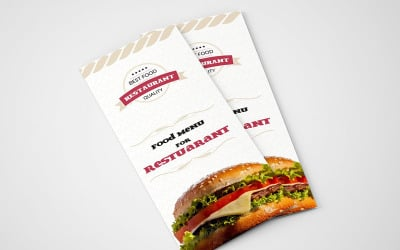 Red Chilli Resturant Trifold Brochure - Corporate Identity Template