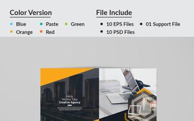 BBDL Bi-Fold Brochure - Corporate Identity Template