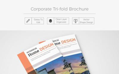 Bissett Tri-fold Brochure - Corporate Identity Template