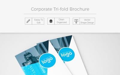Ginter Tri-fold Brochure - Corporate Identity Template