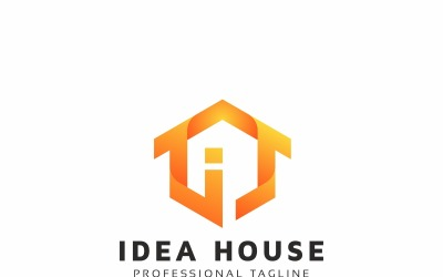 Idea House Logo Template