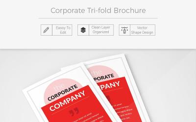 Muskwa Tri-Fold Brochure - Corporate Identity Template