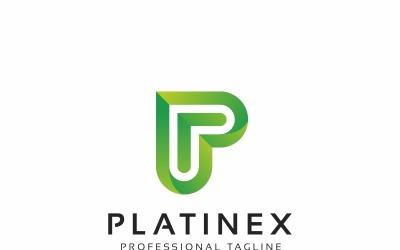 Platinex P Letter Logo Template