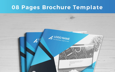 Purnia-pages-Brochure - Corporate Identity Template