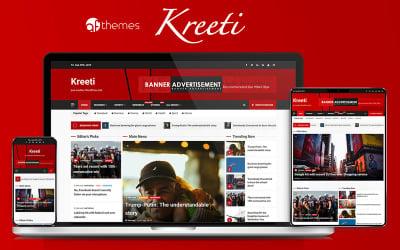 Kreeti - чиста, елегантна та чуйна тема WordPress