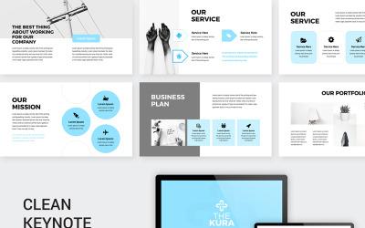 The Kura Business Plan Presentation - Keynote template