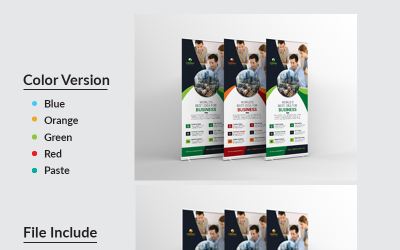 Zahid Roll-Up Banner - Corporate Identity Template