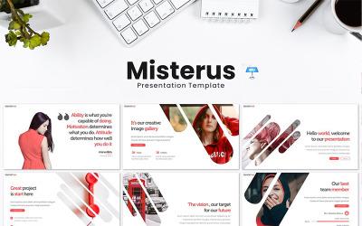 Misterus - Keynote template