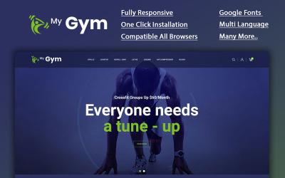 Mygym - Fitness Online áruház OpenCart sablon