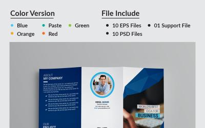 Yasmin Business Tri-Fold Brochure - Corporate Identity Template