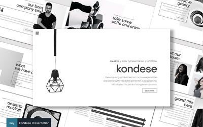 Kondese - Keynote template