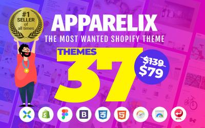 Apparelix - Schoon multifunctioneel Shopify-thema
