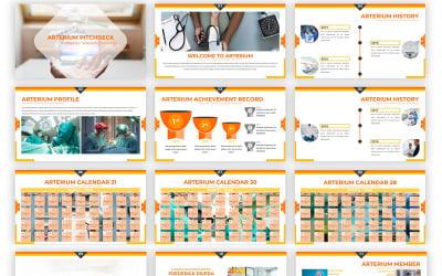 Arterium - Creative Medic Google Slides