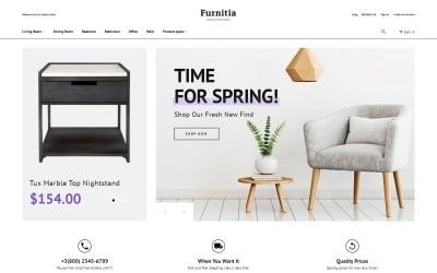 Furnitia - Magento Furniture Store Theme Magento Theme