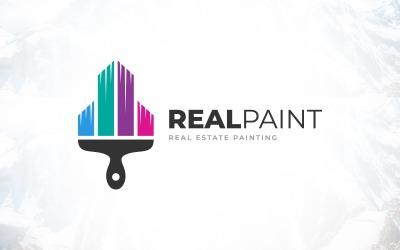 Real Estate Painting Logo Design