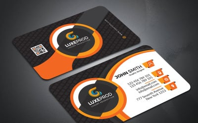 Awesome professional business Card - Corporate Identity Template
