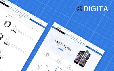 Digita - Electronics Store eCommerce Clear Shopify Theme