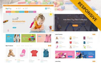 Kulily - Kids Store PrestaShop-thema