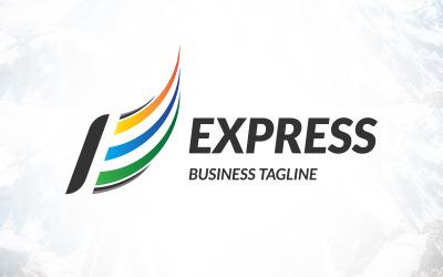 Letter E Express Business Logo Design