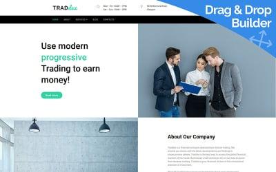 Traddex - Bitcoin Trading Moto CMS 3 Template