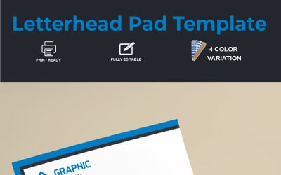 Letterhead Pad - Corporate Identity Template