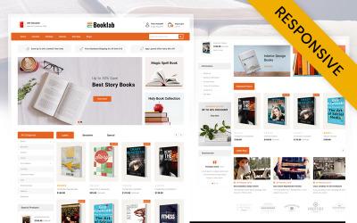 Booklab - Könyváruház OpenCart sablon