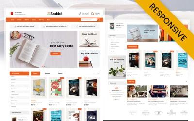 Booklab - OpenCart шаблон книжного магазина