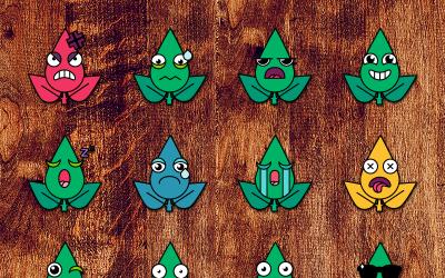 Eco Smiles Set - Illustration