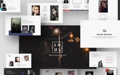 Lulu Creative Presentation - Keynote template