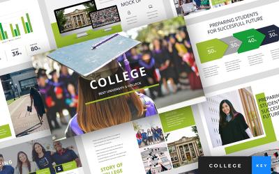 College - University Presentation - Keynote template