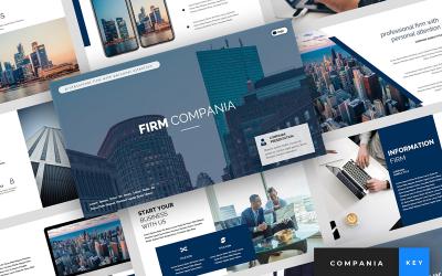 Compania - Firm Presentation - Keynote template