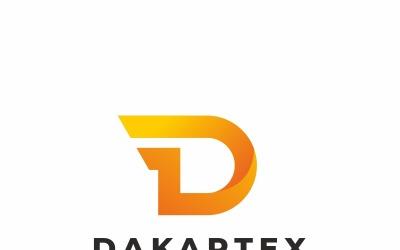 D Wings Letter Logo Template