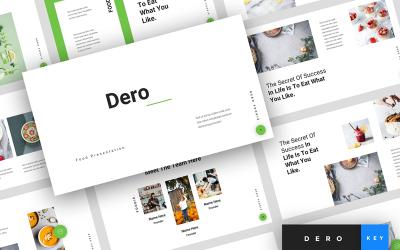 Dero - Food Presentation - Keynote template