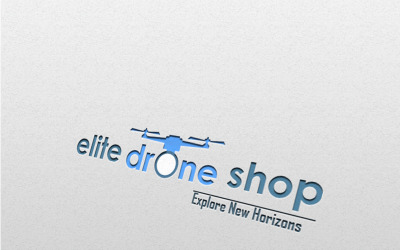 Elite Drone - Business Logo Template